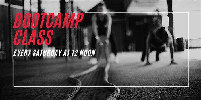 Bootcamp Class Saturdays at Noon